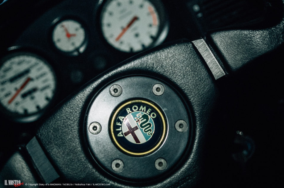 Alfa Romeo RZ V6 SOHC sound